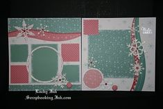 christmas scrapbooking layout | Christmas scrapbooking layouts