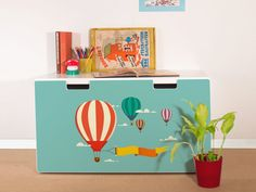 yourdea® - we refresh your IKEA furniture. Refine your IKEA Stuva box with an original yourdea® furniture sticker. The foil is easy to apply and can be