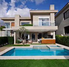 34 Most Popular Ideas For Industrial House Exterior Bungalow Home Room Design, Dream Home Design, Modern House Design, Villa Design, Patio Design, Exterior Design, Luxury Homes Dream Houses, Modern Mansion, Dream House Exterior