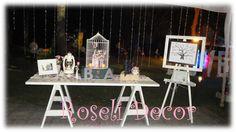 Mesa Bienvenida Boda Bar Cart, Furniture, Home Decor, Mesas, Events, Wedding, Decoration Home, Dessert Table, Room Decor
