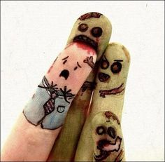 Watch out for the zombie fingers…!