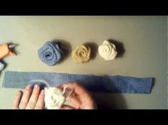 A video..how to make burlap roses