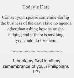 Love dare day #4