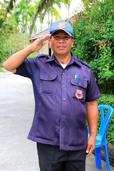 Security Man in Thailand My Photos, Thailand, Button Down Shirt, Men Casual, Mens Tops, Shirts, Fashion, Moda, Casual Male Fashion