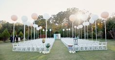 balloons instead of florals