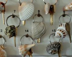 Shell Key Fobs. At Gearhart Ocean Inn, OR.
