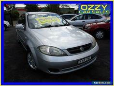 2006 Holden Viva JF Equipe Silver Manual 5sp M Hatchback #holden #viva #forsale #australia