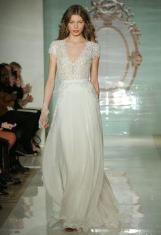 NY Bridal Week - Spring Summer 2015 - Reem Acra #NYBridalWeek #ReemAcra