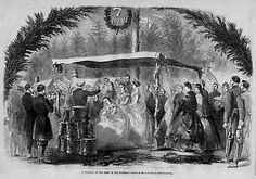 CIVIL WAR WEDDING IN ARMY OF THE POTOMAC, FASHION DRUMS