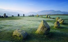 Castlerigg Stone Circle The stone circle at Castlerigg is situated near Keswick in Cumbria, North West England.