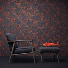 Decor, Chair, Blue, Furniture, Moooi, Wall Coverings, Home Decor