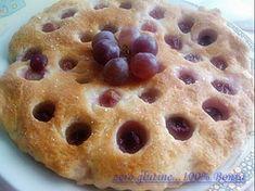 Focaccia all'uva (senza glutine)