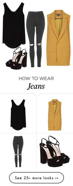 """Untitled #197"" by mariacostaaa on Polyvore featuring Topshop, Zara and Miu Miu"
