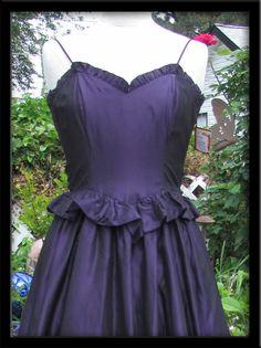 Pretty Purple Party Vintage Gunne Sax Dress