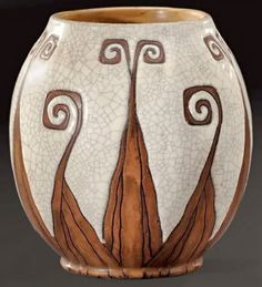 Franco-Belgian ceramist Charles Catteau could be regarded as one of the most versatile ceramic artists of his generation, especially for the style of Art Deco.