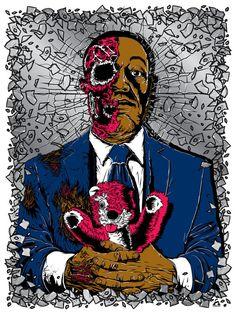 Anthony Petrie es un ilustrador Neoyorkino obsesionado por los zombies y los comics, fruto de ello basa su estilazo su pasión a la hora de crear sus trabajos. Podéis ver sus obras en su web oficial y en su portafolio en deviantart