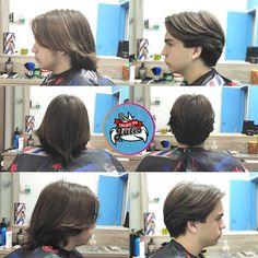 Mens Hair Haircuts Fade Haircuts short medium long buzzed side part lon Hair Art, Men's Hair, Mens Medium Length Hairstyles, Before And After Haircut, High And Tight, Mens Hair Trends, Bald Fade, Bowl Cut, Comb Over