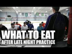 Nutrition For Hockey Players - What Should I Eat After Late Night Practice? - http://hockeyvideocenter.com/nutrition-for-hockey-players-what-should-i-eat-after-late-night-practice/
