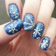 christmas by lexiejade #nail #nails #nailart