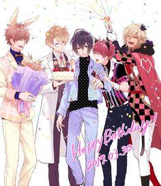 Anime Group, Usui, Hot Anime Guys, Anime Boys, Ensemble Stars, Manga Boy, Anime Artwork, Manga Games, Cute Images