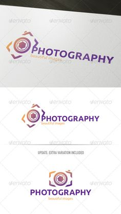 Photography - Logo Design Template Vector #logotype Download it here: http://graphicriver.net/item/photography-logo/2882627?s_rank=508?ref=nexion