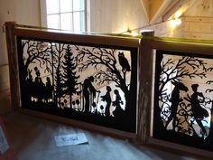 #Custom #Balcony Fairytale #Railing.  Visit our website for more amazing designs.  www.NatureRails.com