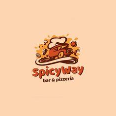 Follow us  @logoinspirations SpicyWay by @repadesign -  http://ift.tt/2geIf0d -  LEARN LOGO DESIGN  @learnlogodesign @learnlogodesign