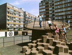 Concrete playground