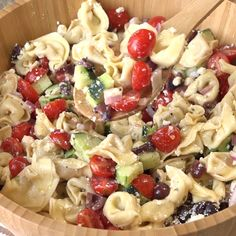 Celebrate summer with this Greek Tortellini Salad! It is a great salad to take to summer barbecues, pool parties, and picnics. No need to wait, let's get this summer party started!