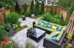 Small backyard idea