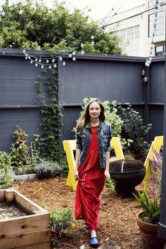 courtney klein outdoor lighting sf garden storq ; Gardenista