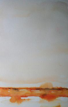Koen Lybaert; Watercolor, 2013, Painting Lumwe II