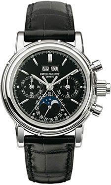 Patek Philippe Grand Complications Perpetual Calendar Moonphase Chronograph