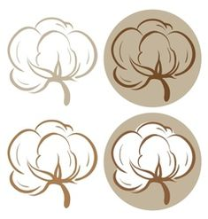 Cotton plants vector image on VectorStock Free Vector Images, Vector Free, Plant Icon, Cake Logo Design, Cotton Pictures, Tattoo Lettering Fonts, Cotton Plant, Plant Vector, Royalty Free Pictures