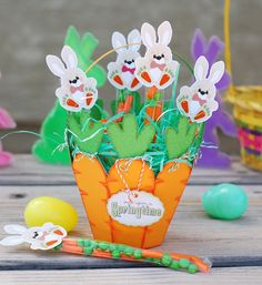 Paper Creations by Kristin: Carrot Easter Basket