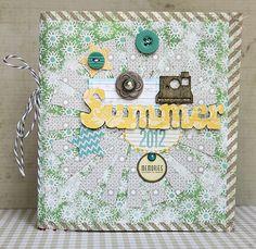 Summer 2012 Mini Album *Lily Bee* - Scrapbook.com