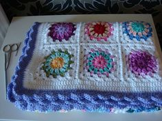 Love the edging and the joining. Colors are lovely too!