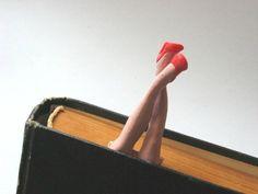 Забавные закладки для книг. Мастер-класс   Домохозяйка