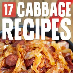 17 Comforting Cabbage Recipes- these dishes bring me back to my childhood.