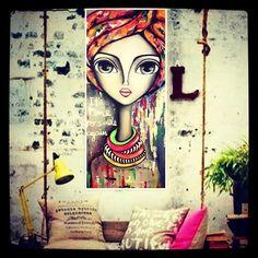 Poster Background Design, Girly Drawings, Painting Of Girl, Arte Pop, Diy Canvas Art, Weird Art, Art Journal Inspiration, Face Art, Cool Artwork