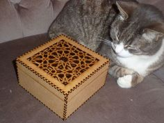 Islamic Pattern Lasercut Box by YourLaser