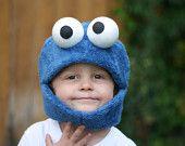 Cookie Monster Mask size Medium