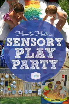 How to Host a Sensory Play Party