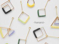 ハンドメイドマーケット minne(ミンネ)| -hanaroi-のiroiro① イヤリング(ピアス)