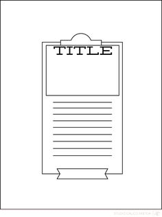Blog: Sunday Sketch | Natalie - Scrapbooking Kits, Paper & Supplies, Ideas & More at StudioCalico.com!