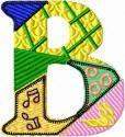 Patchwork Alphabet 2 - Odiles Corner   OregonPatchWorks Fun uppercase alpha set!