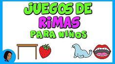 JUEGOS DE CONCIENCIA FONOLÓGICA - YouTube