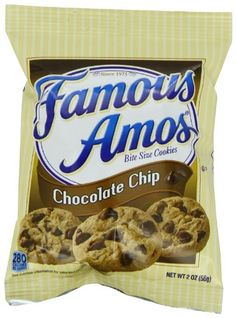 Famous Amos Cookies, Chocolate Chip,...