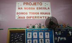 """Semana da Educação Infantil 2015 na EMEI Aparecida  - Projeto """"Na nossa Escola somos todos iguais mas diferentes"""""""