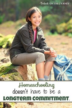 Some parents consider homeschooling, but they're intimidated by the thought of being committed for the long haul. However, it is perfectly okay to choose to homeschool 'for a season' if that is what is best for your family. One veteran mom shares her thoughts and experiences on homeschooling for a season.   embarkonthejourney.com